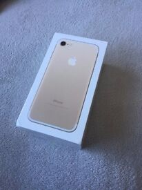 New Apple iPhone 7 - 32GB - Gold (O2 Network) - Sealed Smartphone