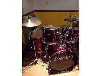 Ludwig 5 piece drum kit