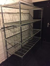 Stainless Steel Catering racking - Pick up Central Bristol £40 ono