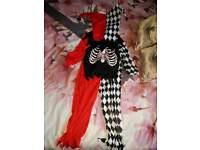Brand new!! Jester costume age 5_6 small