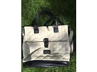 Silver cross leather baby changing bag