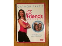 Gaynor Faye's Fit Friends Workout (DVD, 2006) - Excellent Condition Never Played