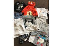 (£1.45 per item) Boys clothing bundle 3-6 months inc Next Monsoon