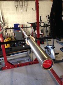 15kg Bodymax Ladies Olympic Weightlifting Barbell Weights Gym