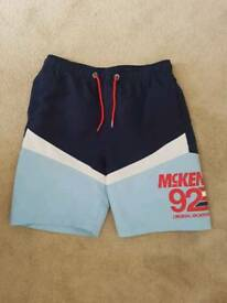 Boys Age 13-15yrs JD Sports McJenkie Sports Shorts