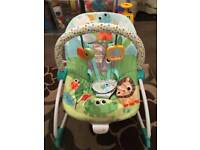 Bright starts baby to toddler rocker / chair