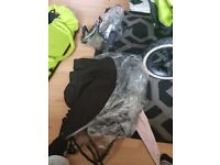 Double phil&ted pram comes with newborn carrier two rain covers and a small bag just need a clean