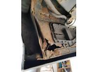 Mobile car welding mot failure rust repairs