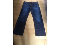 """Men's HUGO BOSS Orange Label HB1 Jeans Waist 34"""" W34 Leg 32"""" Never Worn"""