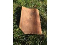60 Reclaimed large clay pan roof tiles -£20 for all 60