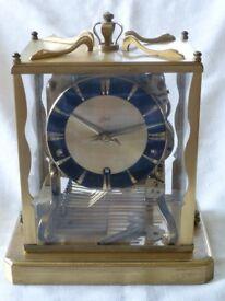 Solid Brass Chiming Mechanical Clock by Schatz