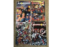 JLA * Avengers - Complete set of 4 original 2003 USA comic books (Marvel / DC crossover)