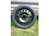 BMW Space Saving Spare Wheel Kit Fits: X1 (E84)