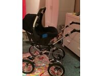Silvercross Pram/Puschair with car seat and isofix