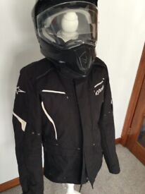 Motorcycle armoured dry star jacket size medium