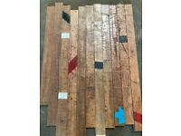 Reclaimed Utile (Mahogany) Flooring - 400 m2 in stock!