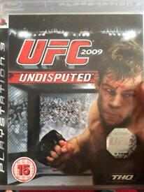 PS3 UFC undisputed 2009