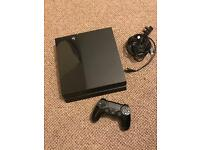 Ps4 500gb with game