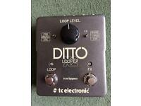 TC Electronic Ditto Looper X2 Loop pedal guitar
