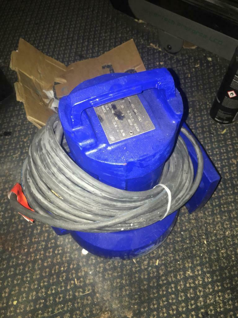 KSB AMA PORTER 601ne, submersible pump, sewage pump, dirty water pump   in  Isleworth, London   Gumtree