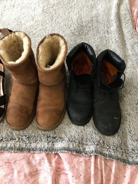 3f11b649615 6 pairs of shoes / boots - Timberland, Ugg, Adidas sizes in description |  in Todmorden, West Yorkshire | Gumtree