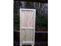 NEW 6 x 3 QUALITY, HEAVY DUTY SIDE GATE £95 - INCLUDES FREE DELIVERY IN KENT