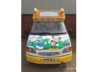 Ice cream van VAN UNO