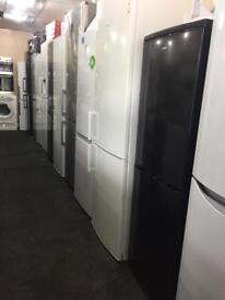 Fridge freezers on sale starting price £99 All sizes available in stock black/silver/white