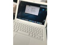 White Macbook 13 inch