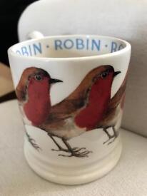 Emma Bridgewater Robin mug