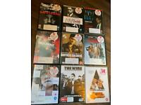 A blockbuster selection of DVDs