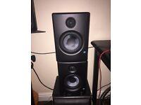Presonus eris 4.5 studio monitors. Speakers