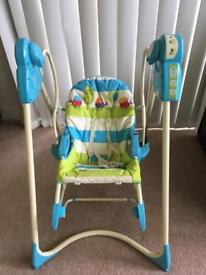 Fisher price 3in 1 baby bouncer/ swing/ chair/ rocker