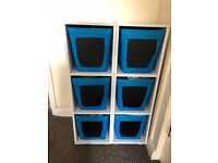 2 x 3 Drawer Storage Rack - Collection only
