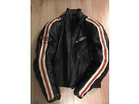 Dainese US70 leather motorcycle jacket Retro Vintage