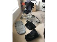 Urbo Pushchair Black