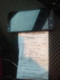 Acatel dual sim unlocked mobile phone.