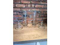 IKEA Glass vases (2no.)