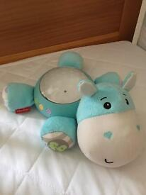 Fisher-Price Fisher Price Hippo Snuggle Projection Soother.