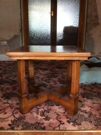 Solid Oak Side Table *Reduced to just £20*