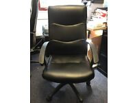 2 x Leather Office Chair