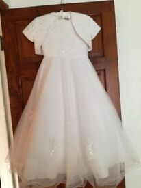 Beautiful Communion Dress...from Gabys Belfast..like new