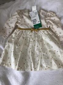 H&M baby girls dress