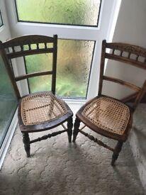 Beautiful Dutch chairs antique