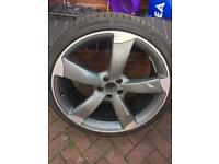 Audi a7 ,21 inch alloy wheel