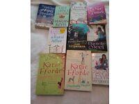 Job lot of ladies books