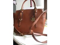 Jane Shilton Tan Coloured Bag