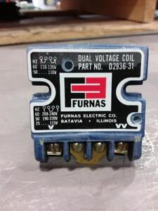 FURNAS Dual Voltage Coil D2936-31 Magnetic Controller