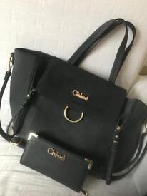 Chloe bag and purse