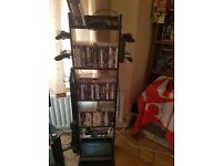 PS3 Console (500gb slim) + x2 Controllers+Guitar Hero Guitar+56 Games incl display shelf - Bargain!